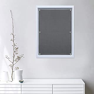 Oxdigi Blackout Blinds Window Cover with Suction Cups for Travel Baby Nursery Skylight Shade Bedroom Car RV Door Temporary Portable Curtain Thermal Insulated Blocking 100% Light 22.4 x 39.3 inches
