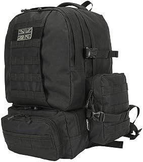Kombat UK Expedition Rucksacks For Men Women Large 50L, Army Airsoft Tactical Assault Molle Sholder Bag for Survival, Trav...