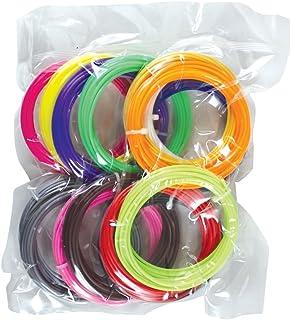 3D Magic Pen Filament Pack - 15 Vibrant Colors
