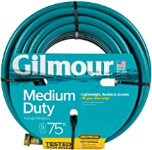 Gilmour 15 Series 4 Ply Reinforced Vinyl Hose 1/2 Inch x 75 Feet 15012075 Green