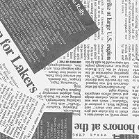 タカ印 ラッピングペーパー 49-1429 レター柄 ニュースペーパー 半才判 50枚