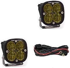 product image for Baja Designs Squadron SAE Fog Lights Pair LED Wide Cornering Amber 257815