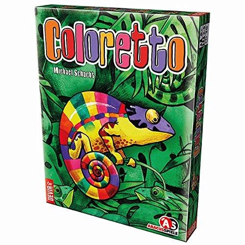 Devir- Coloretto Juego de Mesa, Multicolor, única (BGCOL)