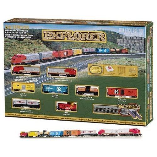 Bachmann Trains Explorer Ready - To - Run N Scale Train Set