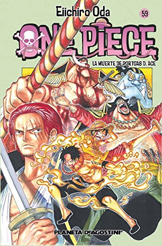 One Piece Nº59: La muerte de Portgas D. Ace (Planeta de Agostini) (Manga Shonen)