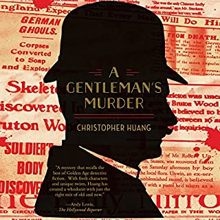 A Gentleman's Murder audiobook cover art