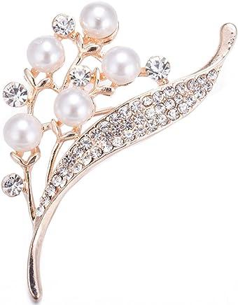 Cosanter Mujer Broche Pin Broches de Mariposa de diamantes de imitaci/ón Accesorios de Ropa Su/éter Bufanda Decoraci/ón Bunt 4 3.5 cm