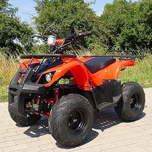 E-QUAD 1000 Watt rot Offroad ATV Kinderquad Kinder Elektro Quad