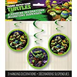 Unique Hanging Teenage Mutant Ninja Turtles Decorations (3 Count), 26', Multicolor, One Size, Model: 44741