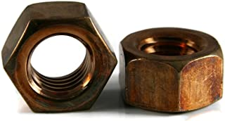Hex Finish Nuts Silicon Bronze - 5/16