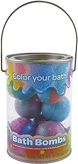 Crayola 洗澡炸弹桶 8 只装