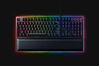 Razer Huntsman Elite (Switch Scatto) - Premium gaming toetsenbord met geëvolueerde Opto-Mechanical switch (Key stabilizer ...