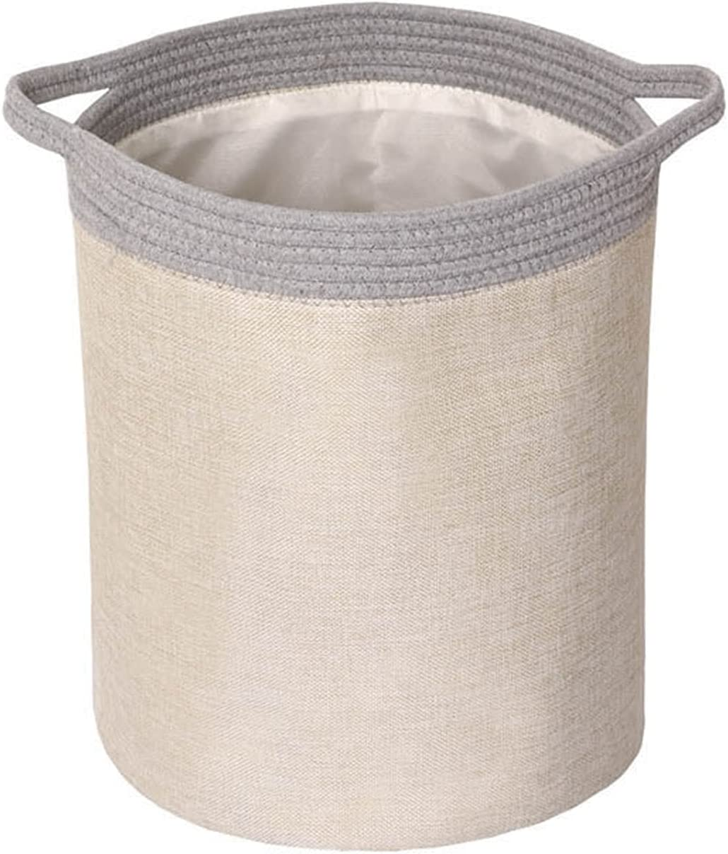 zhangmin Laundry Dealing full price Indefinitely reduction Hamper ,Storage with Handles Large Basket