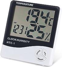 Fdit Termómetro Digital para Interiores, Medidor de Temperatura Interior, Termómetro Digital LCD, Termómetro LCD Termómetro Digital Digital para frigorífico Pantalla LCD Termómetro Digital