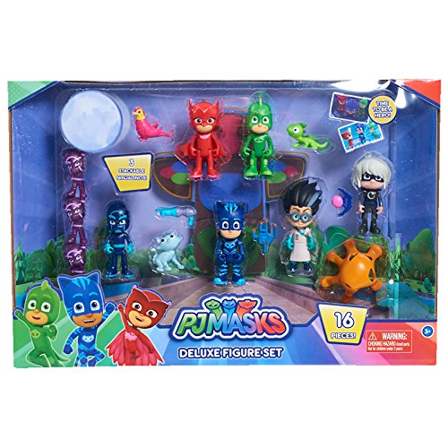 PJ Masks Deluxe 16-teiliges Figuren Set (2018)