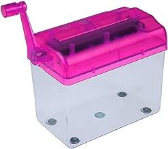 $26 » Good Mini Portable Personal Home Office Desktop Manual Hand Crank Paper Cutter Hand Paper Shredder Random Color