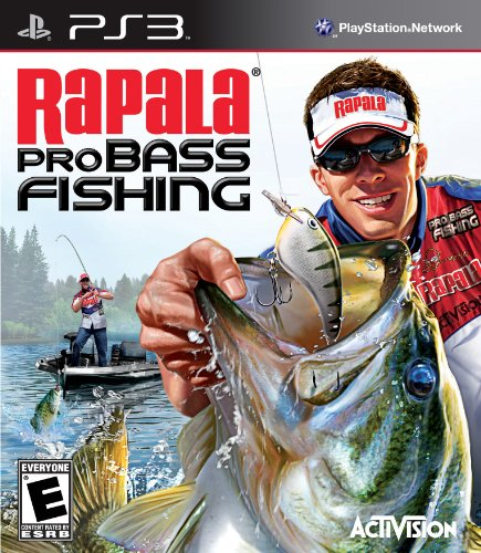 Activision Rapala Pro Bass Fishing 2010 Basic PlayStation 3 Inglese videogioco