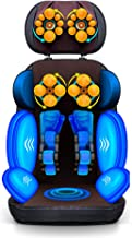 Massage Seat Cover with Warmth and Vibration Function for A Back Massage and Body Massage Adjustable Massage Cover Relaxat...