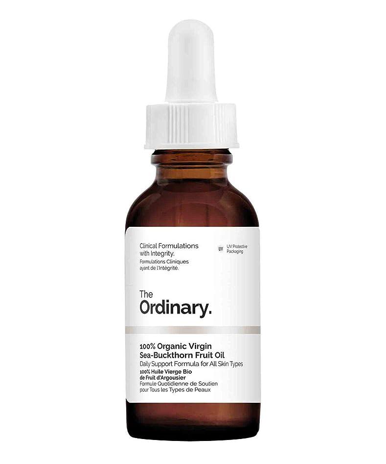キノコ発生器衝突コースThe Ordinary 100% Organic Virgin Sea Buckthorn Fruit Oil