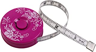 Tape Measure for Body, Measuring Tape for Body Sewing Tailor Fabric Measurements Tape, Retractable Purple Tape Measure, Dual Sided