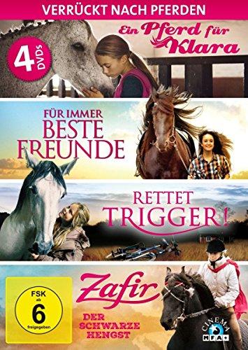 Verrückt nach Pferden - Die ultimative Pferde-Box [4 DVDs]
