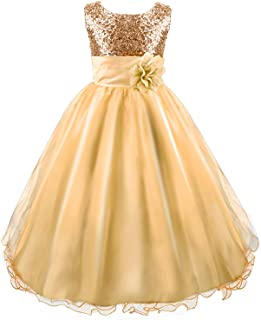gold girls dress