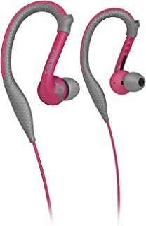 Philips ActionFit Sports Earhook Headphones Without Microphone Pink