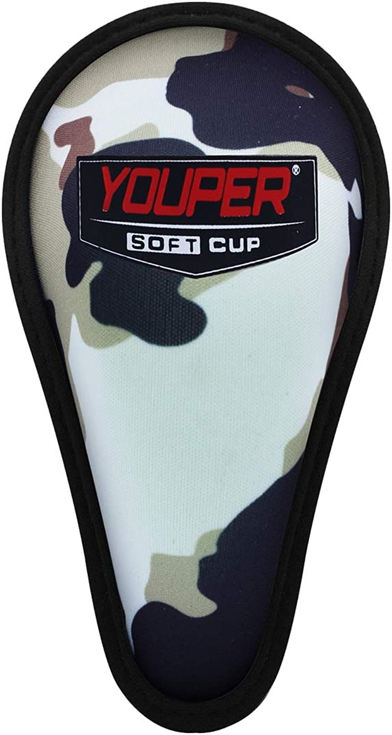 Youper Boys Youth Soft Foam Protective Athletic Cup (Ages 4-6), Kids Sports Cup for Baseball, Football, Lacrosse, MMA