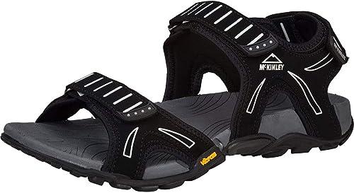 McKINLEY Barbados Vibram, Chaussures de Randonnée Basses Homme, (noir 900), EU