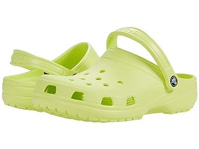 Crocs Classic Clog (Lime Zest) Clog Shoes