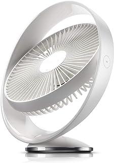 JULABO Durable Mini Ventilateur de Bureau Rotatif de Bureau Ventilateur USB 3 Vent Ventilateur électrique Table Ventilateu...