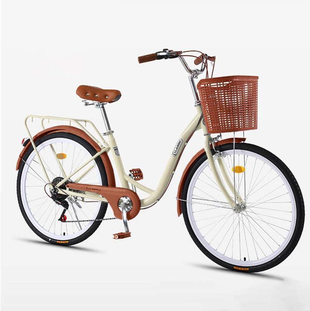 Discount mail order Lanemin Womens Classic Cruiser Bike Cheap sale 24 Retro 26 Bea Inch Bicycle