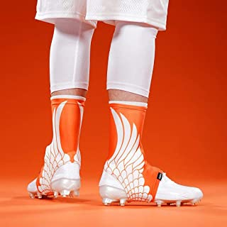 Icarus Orange Spats/Cleat Covers
