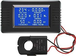 KKmoon PZEM-022 Abrir e Fechar CT 100A AC Monitor de Energia Digital Medidor Voltímetro Amperímetro Freqüência Medidor de ...