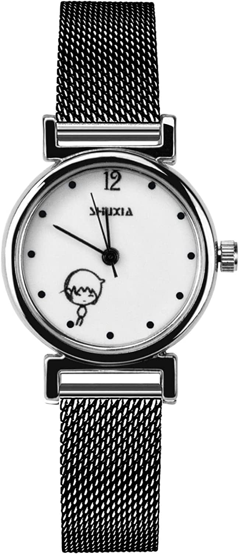 GZHYMY Women's Mini Casual Watch Analog Albuquerque Mall Quartz Movement 2021 model Three Ha