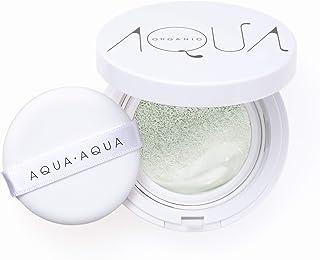 アクア・アクア オーガニック クッションコンパクト カラーベース (化粧下地)リフィル SPF13 PA++ (グリーン)