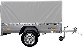 Autoaanhanger 230 x 125 Garden Trailer 230 KIPP Unitrailer 750 kg met steunwiel, hoogzeil en hoogspregel