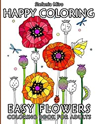 Chalk Style Botanicals Deluxe Coloring Book