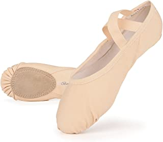 Girls Canvas Ballet Shoes Ballet Slipper for Kids Women