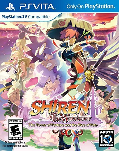 Shiren The Wanderer: The Tower of Fortune and the Dice of Fate  PlayStation Vita