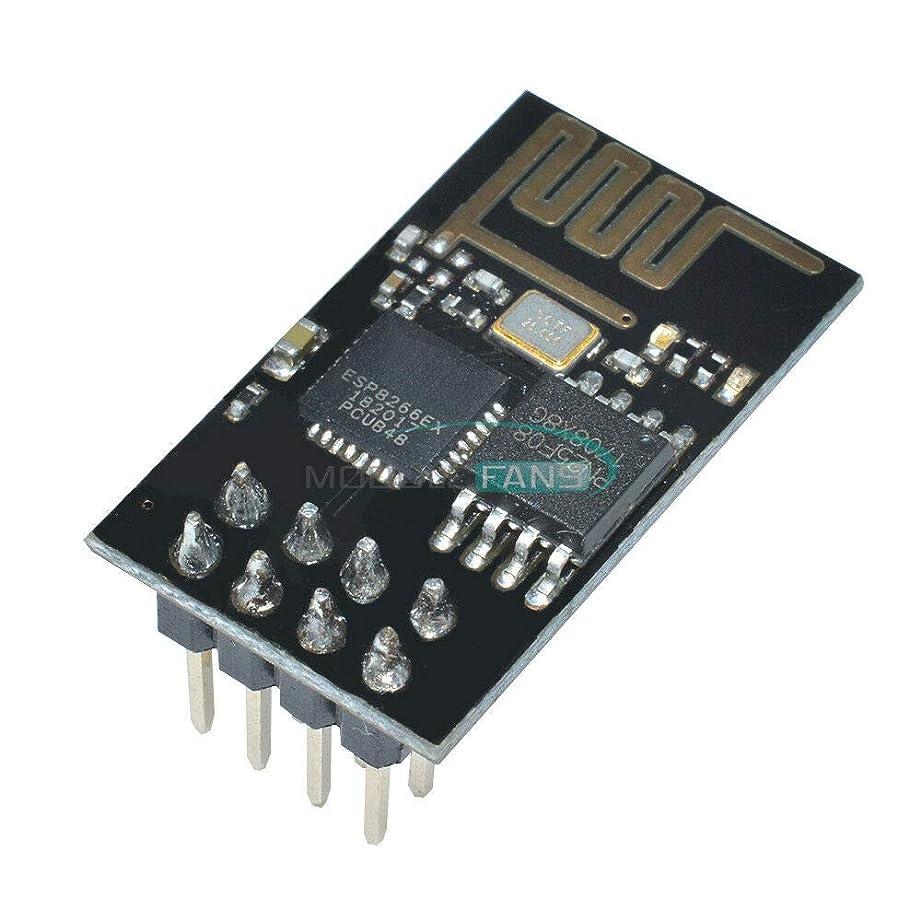 フォーカスオートマトン勘違いするFidgetGear 5PCS ESP8266 Esp-01 WIFI無線トランシーバモジュール送信受信LWIP AP + STA