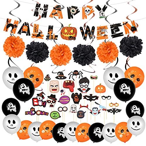 Nasharia Decorazioni Halloween Casa, Festoni Halloween Decorazioni, Happy Halloween Decorazioni,...