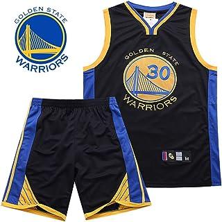 YDYL-LI Golden State Warrior # 30 Stephen Curry Jersey Conjunto De Uniforme De Baloncesto Camiseta Sin Mangas Camiseta Deportiva De Secado Rápido,Black,M165~170CM/50~60kg