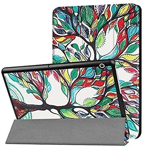 YNLRY Tab Accesorios para Huawei MediaPad M3 Lite 10, Flip Stand Smart Luxury Cuero Funda Protectora Delgada para MediaPad M3 Lite 10 BAH-W09 BAH-AL00 10' (Color: Hls)
