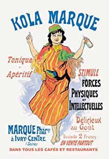 ArtParisienne Kola Marque Jules Chéret 20x30 Poster Semi-Gloss Heavy Stock Paper Print