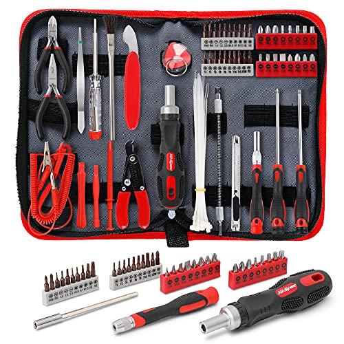 Hi-Spec 56 Piece Computer & Electronics Repair Tool Kit. Screwdriver Bits,...