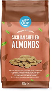 Marca Amazon - Happy Belly Almendras sicilianas sin cáscara