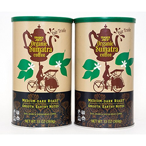 Trader Joes Fair Trade Organic Sumatra Coffee