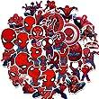Spiderman Aufkleber - Miotlsy 70 Stück Superhero