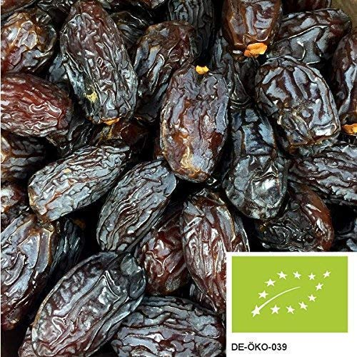 5kg de dattes BIO Medjool avec noyau - dattes naturelles et séchées doucement, provenant d'Israël, sans aucun additif